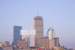 Boston horisont över Fenway Fotografering för Bildbyråer