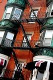Boston house fragment Stock Image