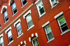 Boston house fragment Stock Photos