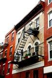 Boston houses Royalty Free Stock Photos