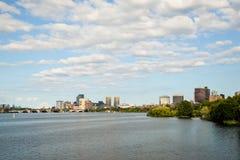 Boston i Massachusettes Fotografering för Bildbyråer