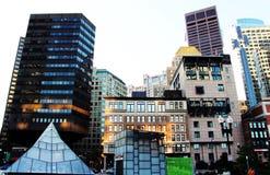 Boston im Stadtzentrum gelegenes Southstation Lizenzfreie Stockbilder