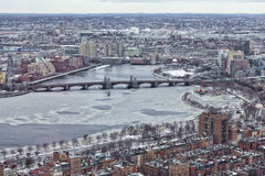 Boston In The Winter Stock Photography