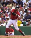 boston jason Red Sox varitek Arkivbild