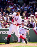 boston jason Red Sox varitek Royaltyfri Foto