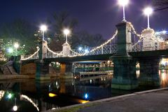 Boston Jawnego ogródu most Obrazy Royalty Free