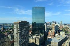 Boston Back Bay Skyline, Massachusetts, USA Stock Photo