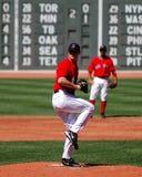boston jonlester Red Sox Royaltyfri Foto