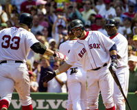 boston kevin millar Red Sox Arkivbilder