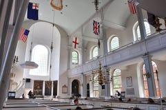 boston kyrkliga norr gammala USA Royaltyfri Foto
