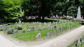 Boston kyrkogård, Paul Revere arkivbilder
