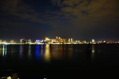 Boston la nuit Images stock