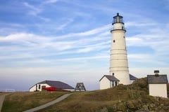 Boston Light, Boston Harbor royalty free stock images