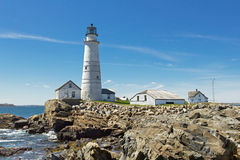 Boston Lighthouse Stock Photography