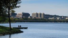 boston linia horyzontu Obraz Stock