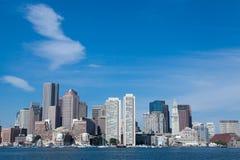 Boston linia horyzontu Fotografia Royalty Free