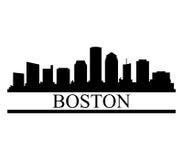 Boston linia horyzontu Zdjęcia Royalty Free