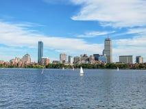 Boston linia horyzontu Zdjęcie Stock