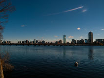 Boston linia horyzontu Zdjęcie Royalty Free