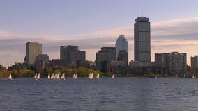 Boston linia horyzontu w Massachusetts - usa zdjęcie wideo