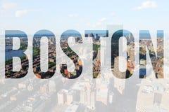 Boston los E.E.U.U. imagenes de archivo