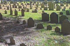 Boston, los E.E.U.U. - octubre, 3: Tierra de entierro del granero en Boston, mA, imagenes de archivo