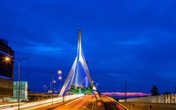 Boston ludzie Śpieszy się dostawać domowy fotografia royalty free