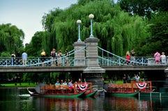 Boston, MA: Boston Public Garden Stock Photo