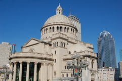 Boston, MA: Christian Science Mother Church Royalty Free Stock Photos