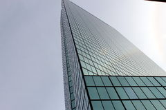 Boston mA 1 de marzo - John Hancock Tower Imagen de archivo libre de regalías