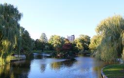 Boston mA EE.UU. Parque Imágenes de archivo libres de regalías