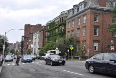 Boston Ma, 30 Juni: De historische Bouw van Boston de stad in in Massachusettes-Staat van de V.S. Royalty-vrije Stock Fotografie