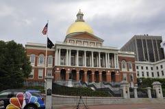 Boston Ma, 30 Juni: Het Huis van de staat van Massachusettes van Boston in de V.S. Stock Foto's