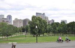 Boston mA, le 30 juin : Parc commun de Boston à Boston du centre dans l'état de Massachusettes des Etats-Unis Photo stock