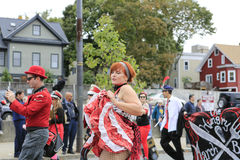 Boston, MA - October 6, 2012: Columbus Day Parade Royalty Free Stock Images