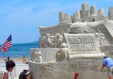 Boston, MA/USA- 19 de julho de 2013 - o tema Imagens de Stock Royalty Free