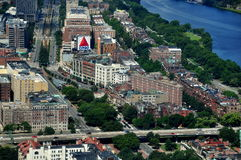 Boston, MA: View to Kenmore Square Stock Photography