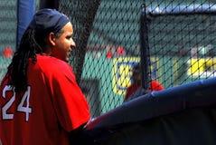 boston manny ramirez Ред Сох Стоковое Изображение RF