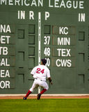 boston manny ramirez Red Sox Royaltyfri Foto