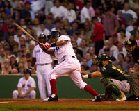 boston manny ramirez Red Sox Royaltyfri Fotografi