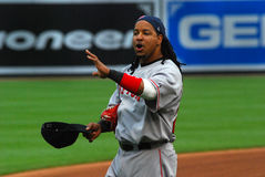 boston manny ramirez Red Sox Royaltyfri Bild