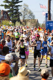 Boston Marathon Stock Image