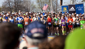 Boston Marathon Stock Photography