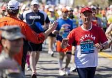 Boston Marathon Stock Images