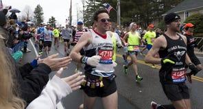 Boston-Marathon 2015 Lizenzfreie Stockfotos