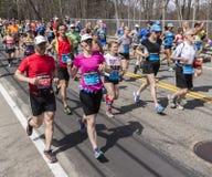The Boston Marathon 2014 Royalty Free Stock Photos