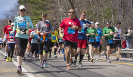 The Boston Marathon 2014 Royalty Free Stock Image