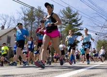 Boston Marathon 2016 Stock Photos