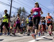 Boston Marathon 2016 Stock Images