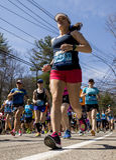 Boston Marathon 2016 Stock Image